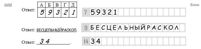инструкция к выполнению с егэ по русскому языку